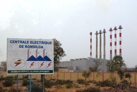La centrale electrique occupe environ sept hectare. Burkina24
