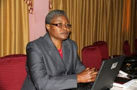 La representante residente de la Banque mondiale au Burkina, Mme Mercy Tembon.