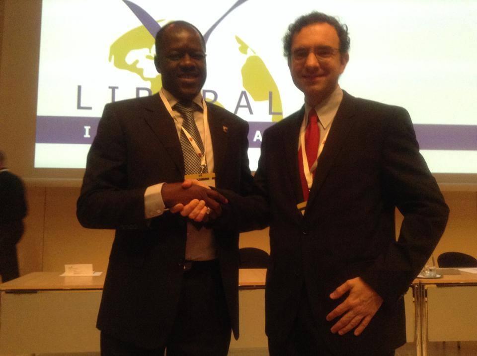 Photo postée sur le profil facebook de Me Gilbert Noel Ouedraogo