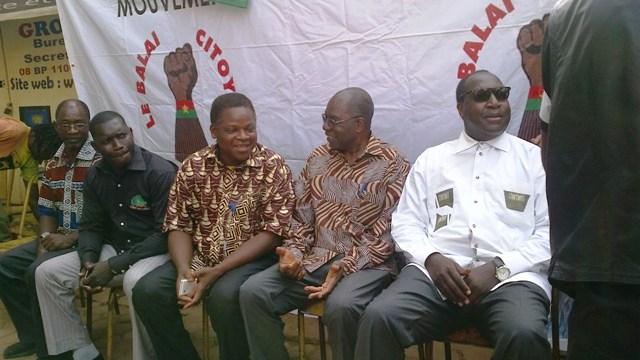 Les opposants politiques ont apporté leur soutien au mouvement (Ph :B24)