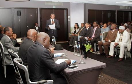 Blaise Compaoré lors du face-à-face (Ph : Présidence du Faso)