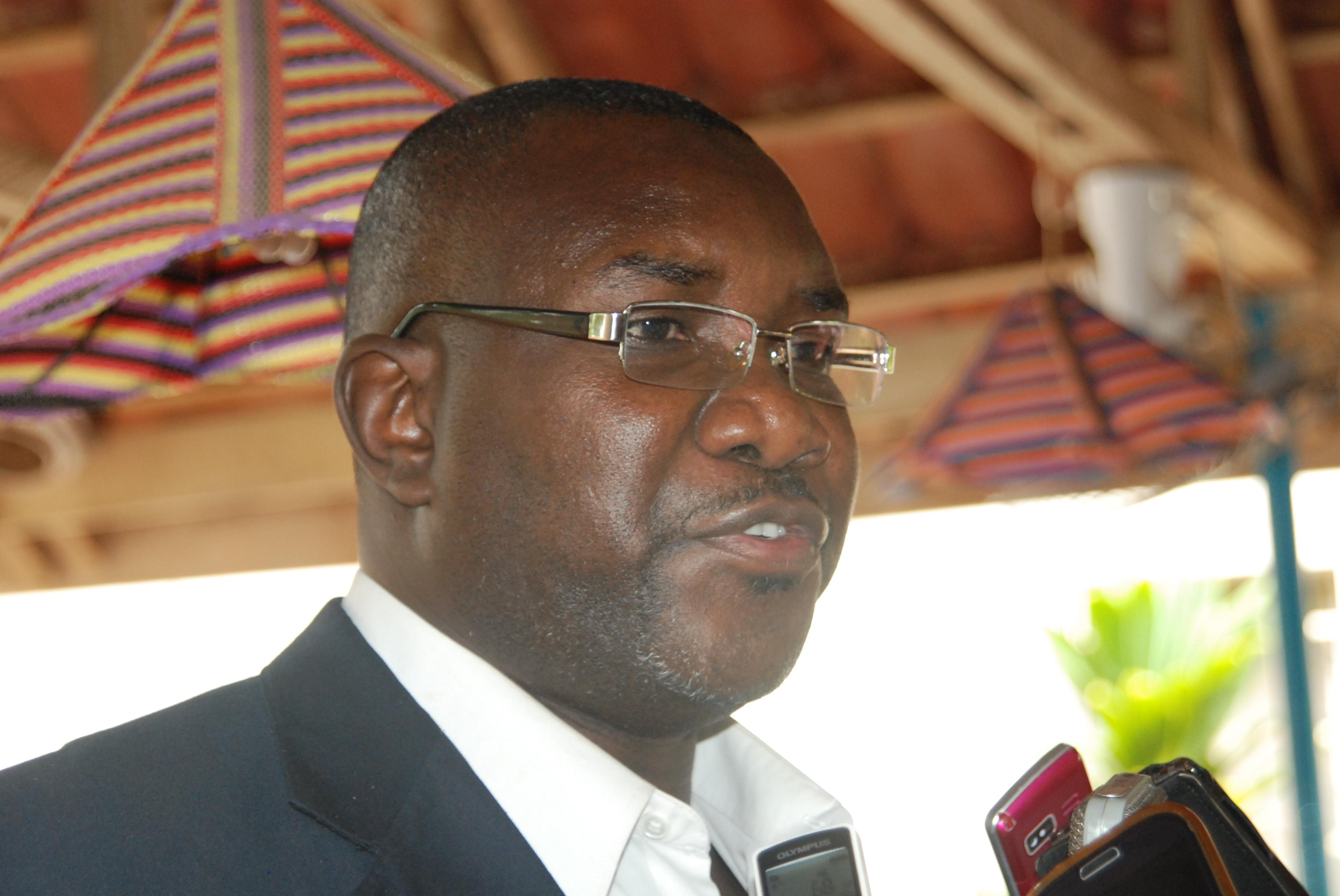 Siaka Coulibaly du CDCAP, membre de la troika. © Burkina 24