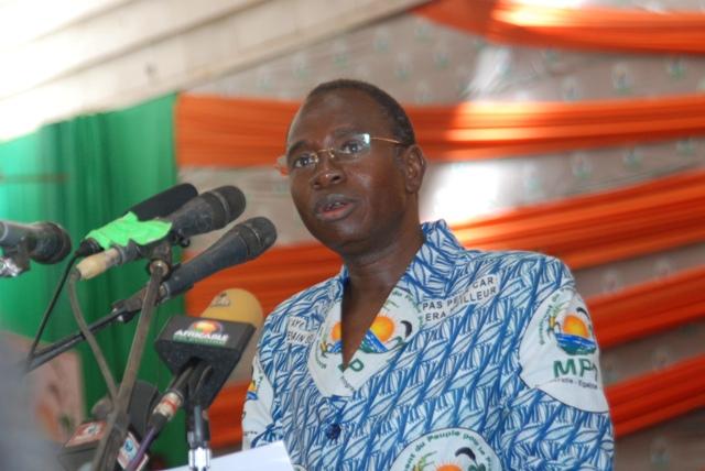 Clément Sawadogo, le SG du parti (Ph : B24)