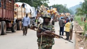 Evacuation de musulmans de Bangui. Photo :rfi.fr