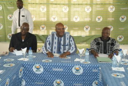 Les leaders du MPP lors de l'audience (Ph : B24)