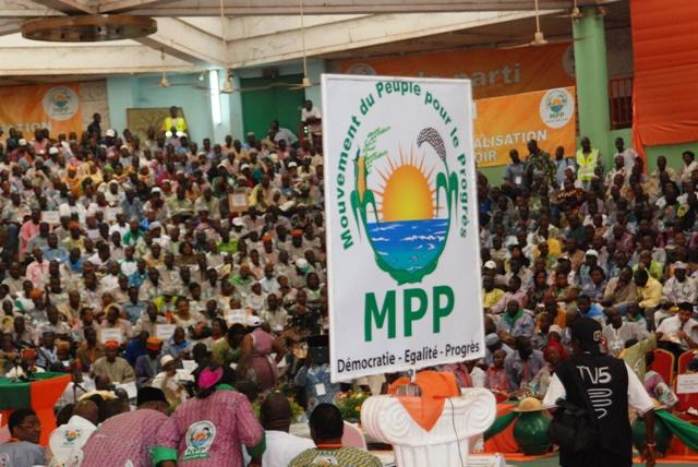 """Le MPP se veut une """"force de changement"""", selon Roch Marc Christian Kaboré (Ph : B24)"""