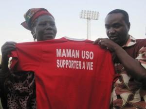 Le sacrifice de Maman USO pour le club ont été salués par les dirigeants
