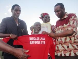Nabiiga a dédié toute sa vie à l'USO