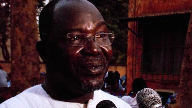Le médecin général de brigade Nazinigouba Ouédraogo (Ph : B24)