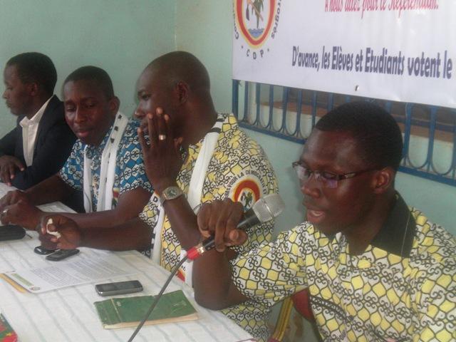 La coordination des élèves et étudiants du CDP (Ph : DR)
