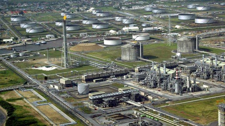 Exploitation de gaz et de pétrole de Shell dans le delta du Niger, au Nigeria. Image france24