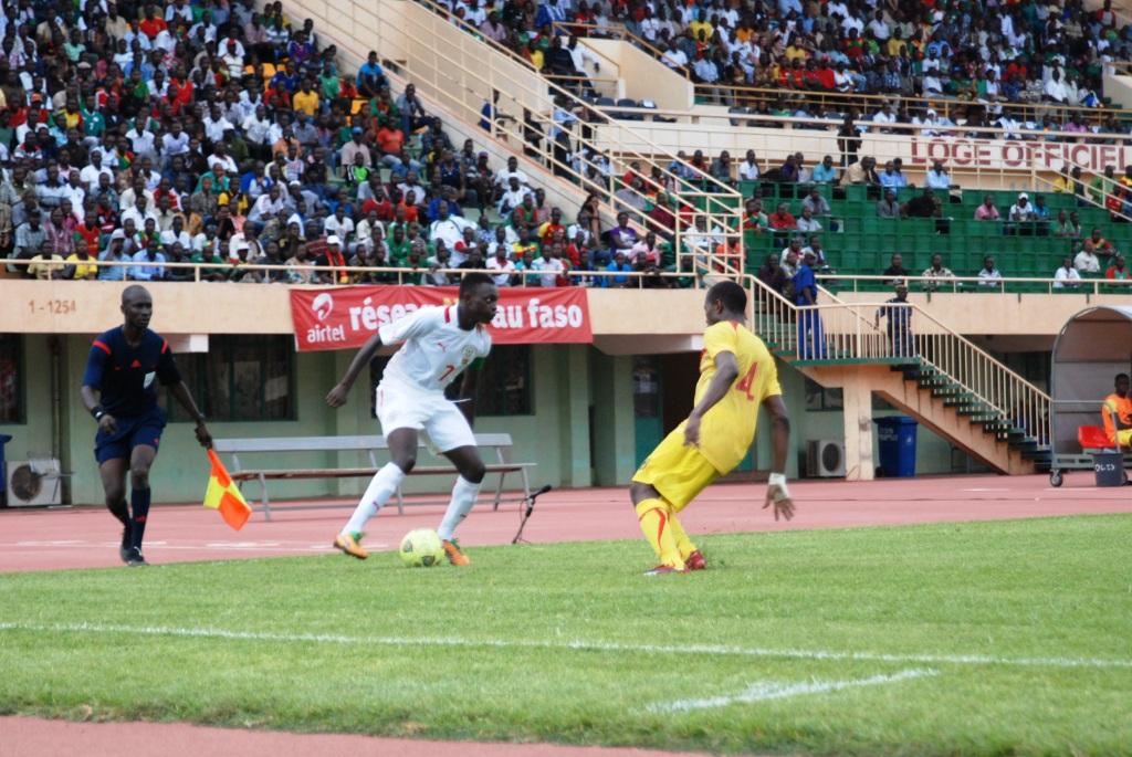 Etalons junior contre Aiglons du Mali Fayçal Ouédraogo