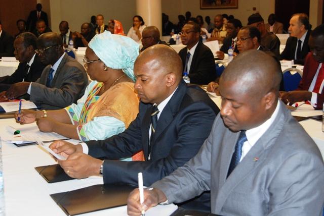 Les participants à la réunion de haut niveau (Ph : B24)