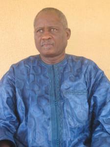 Le général Ibrahim Traoré ancien président de l'USFA est le parrain de la 21ème journée du Fasofoot