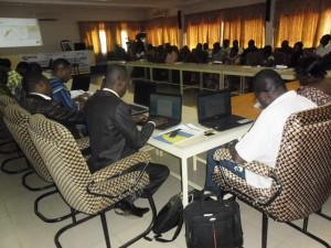 La présentation de ces résultats d'analyses a vu en effet, la participation de plusieurs cadres administratifs.