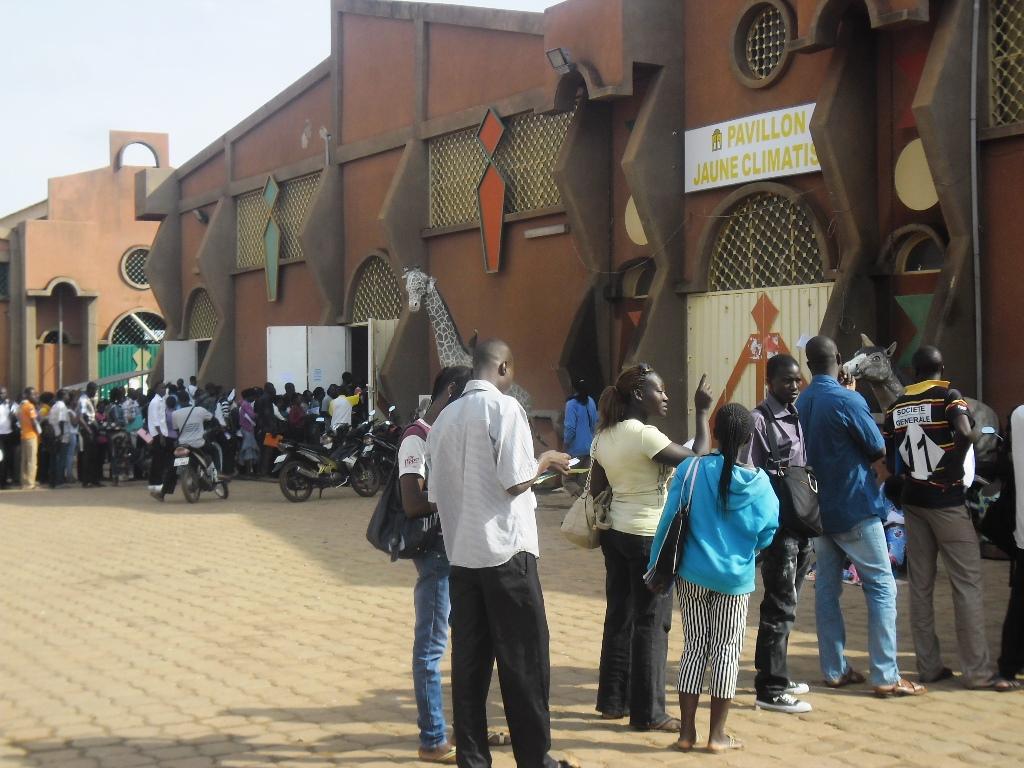 Salon international de l'artisanat de Ouagadougou (SIAO).