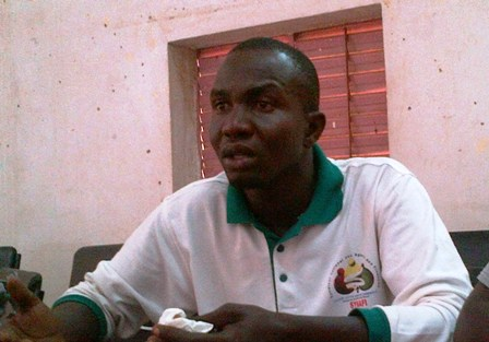 Mohamed Sawadogo, SG du SYNAFI (Ph : B24)