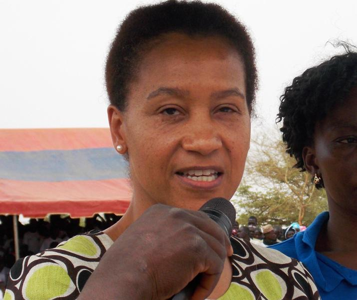 Rebecca Bassey, représentante résidente adjointe de CRS Burkina (Ph : B24)