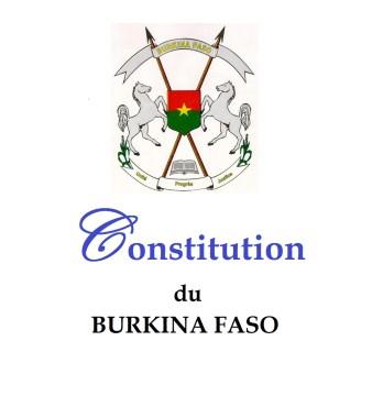 Constitution du Burkina Une