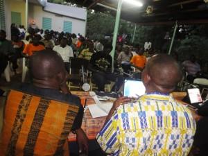 La jeunesse s'est fortement mobilisée pour la conférence publique