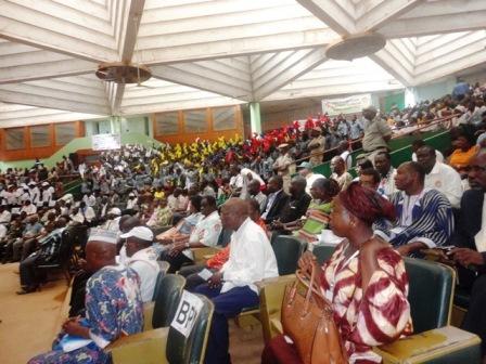 Plusieurs militants lors de l'assemblée générale du CDP (© Burkina24)