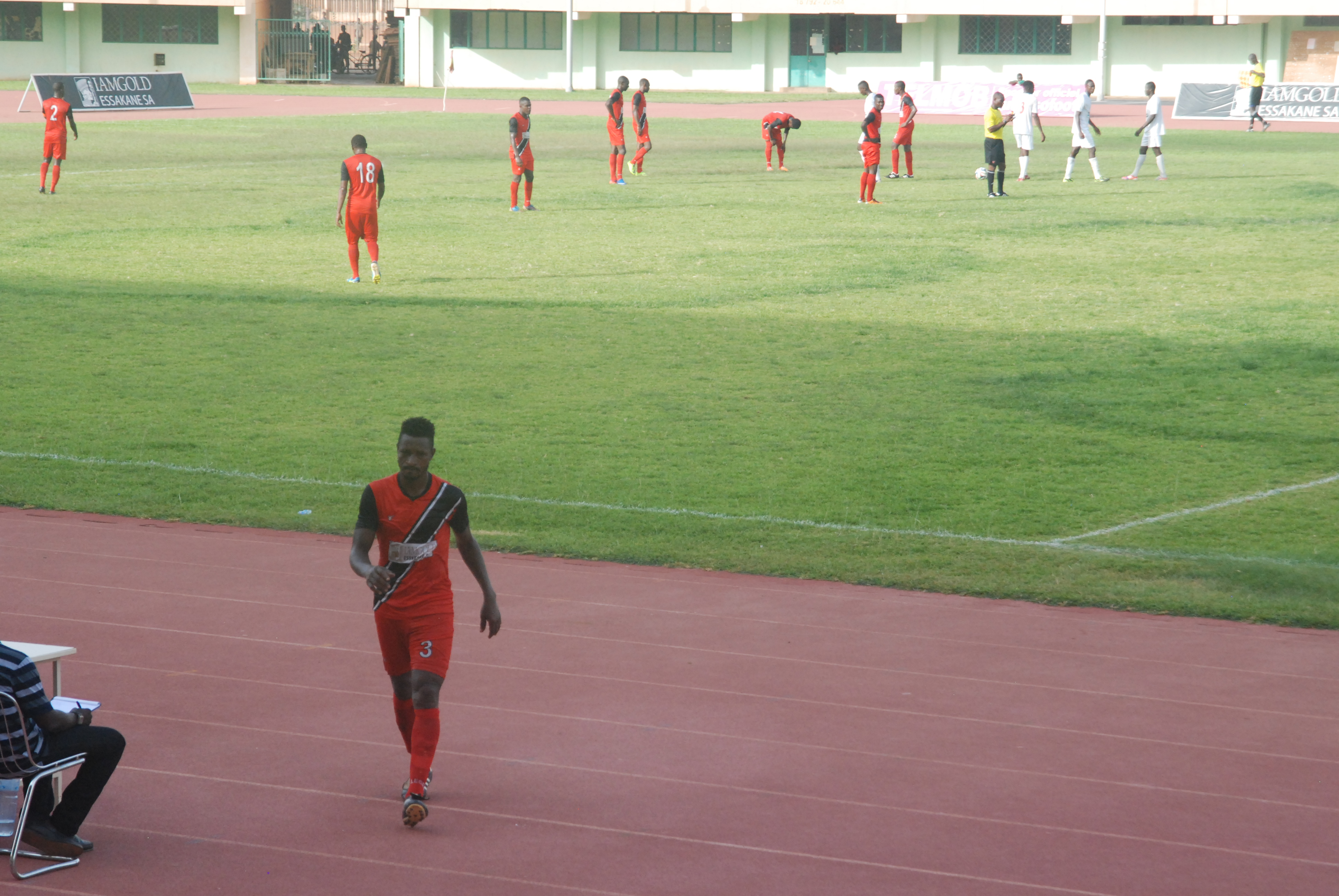 Mamadou Tall Santos FC