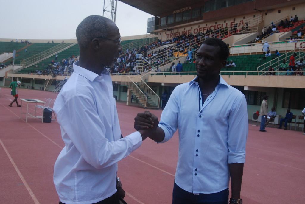 Les retrouvailles entre Laurent Kipré et Mamadou Zongo étaient émouvants