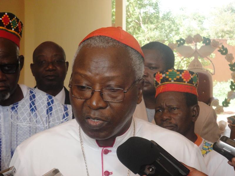 Le cardinal Philippe Ouédraogo, fichier électoral, enrolement, visite de Bartélémy Kéré, CENI