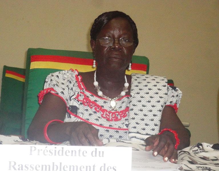 Madeleine Nana, présidente des femmes libérales de l'ADF RDA ( Ph. B24)