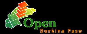 Le logo du programme Open Data (Données ouvertes) du Burkina Faso.