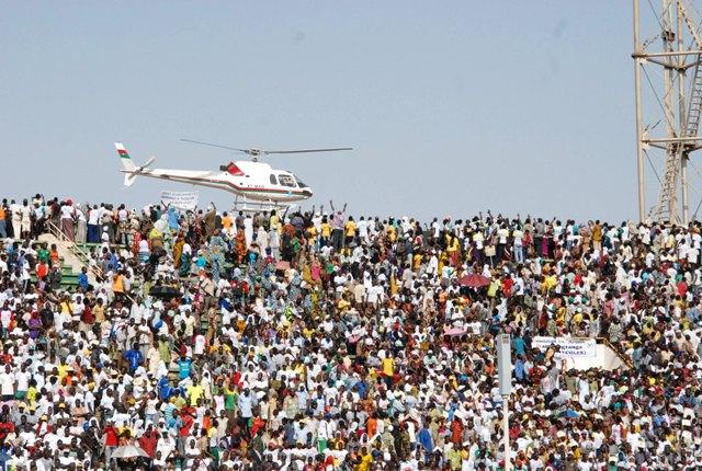 L'hélico (Burkina 24)
