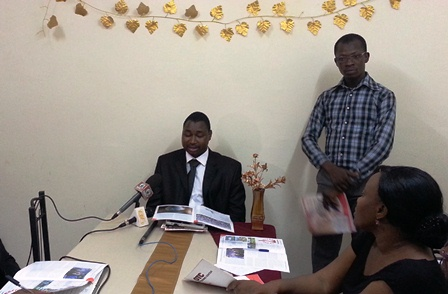 le Directeur de Publication de Sciences-Campus Info, GOW Siaka  © Burkina 24