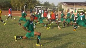 Les Étalons cadets sont confiants avant le départ au Cameroun