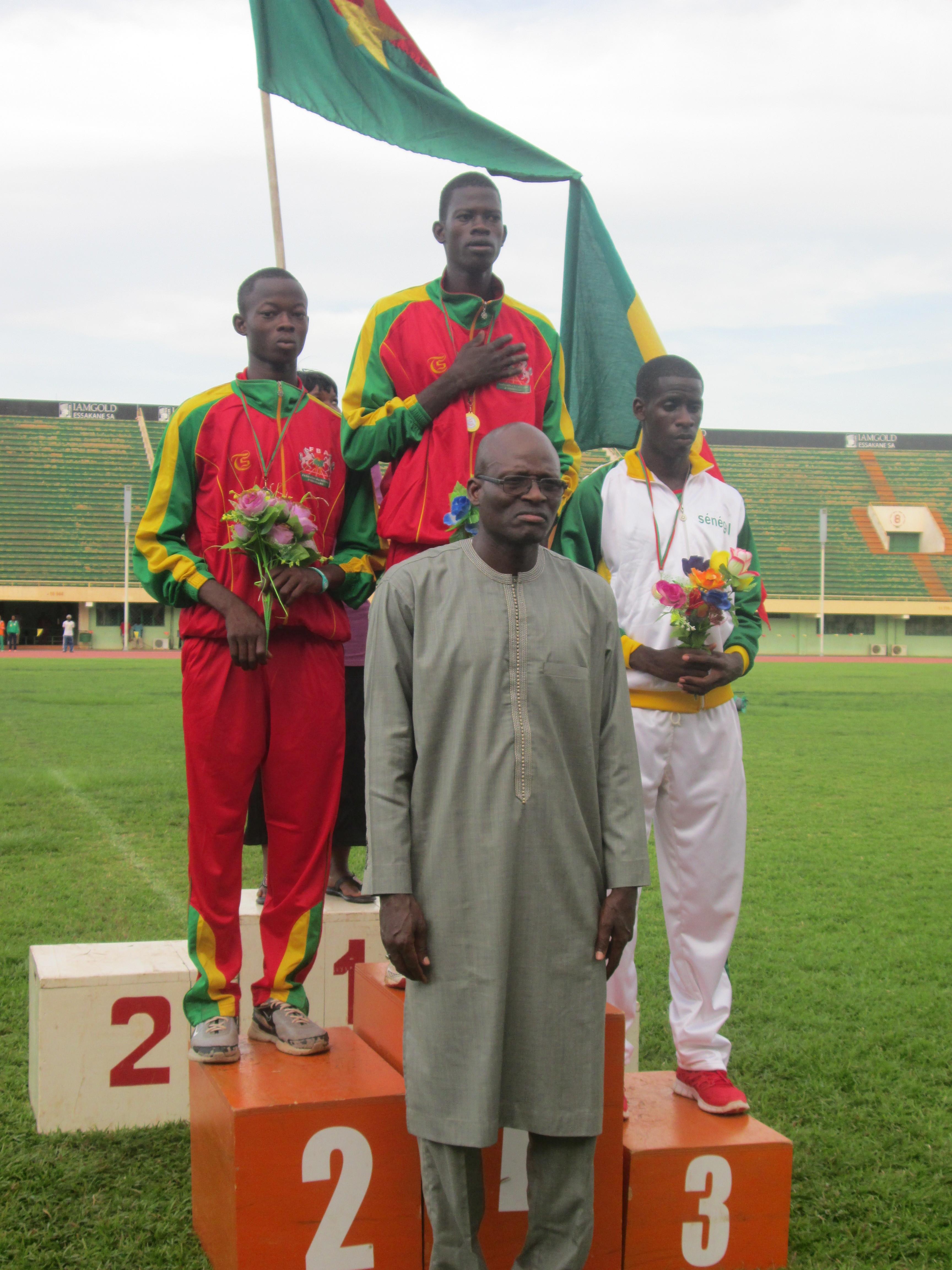 Le Burkina s'en sort avec 32 médailles et prend la tête (© Burkina 24)