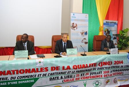 Journées nationales de la qualité 2014 © Burkina 24