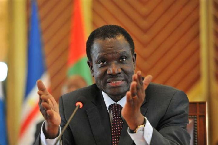 Le président de la commission de la CEDEAO, Kadré Désiré Ouédraogo.