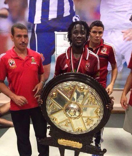 L'ancien joueur de l'EFO est champion avec Al Ahly du Caire