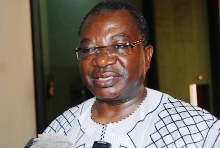 Le ministre en charge de l'Economie, Lucien Marie Noël Bembamba (© Burkina 24)