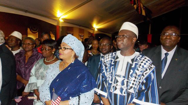 Les membres du gouvernement burkinabè et personnalités étaient présents à cette célébration ( © Burkina24)