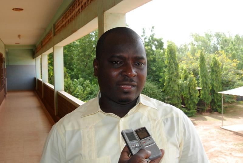 Adama Kanazoé, président du parti AJIR (© Burkina 24)