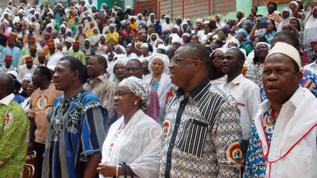 Le secrétariat exécutif du CDP a apporté son soutien aux militantes (© Burkina 24)