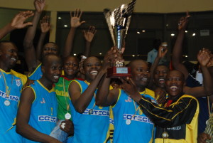 AS Douanes champion volleyball