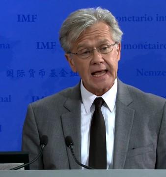 porte-parole du Fonds monétaire international, Gerry Rice