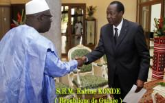 Cinq nouveaux ambassadeurs accrédités au Burkina
