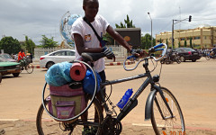 Cotonou – Jarcieu à vélo: le pari «fou» d'un jeune Béninois