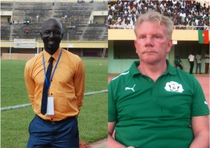 Lassina Sawadogo et Paul Put
