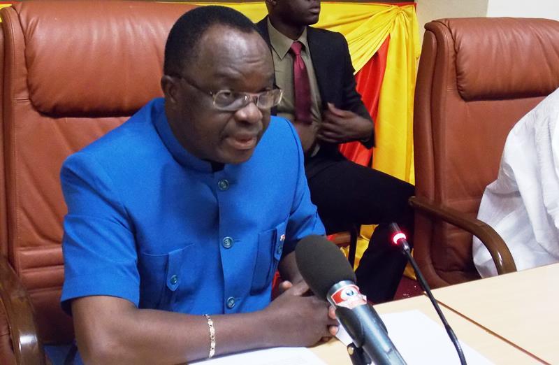 Me Bartelemy Kéré, president de la CENI (© Burkina 24)
