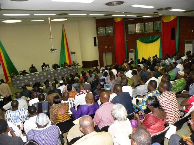 Séminaire avec la participation de nombreux militants du MPP (©Burkina24)