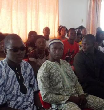Quelques démissionnaires au point de presse (© Burkina 24)