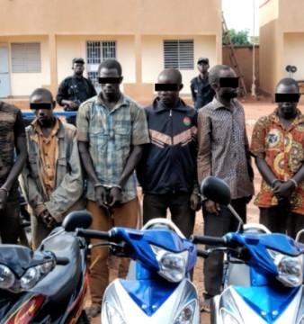 Bande de six malfrats arrètés (©Burkina24)